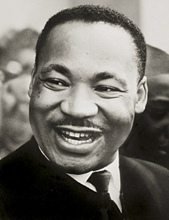 Photo ofDr. Martin Luther King Jr.